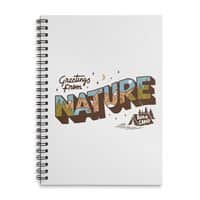 Nature Greetings - spiral-notebook - small view