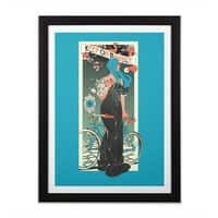 Balance - black-vertical-framed-print - small view