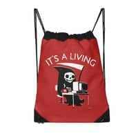 It's A Living - drawstring-bag - small view