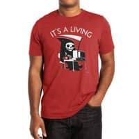 It's A Living - mens-extra-soft-tee - small view