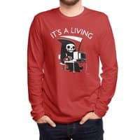 It's A Living - mens-long-sleeve-tee - small view