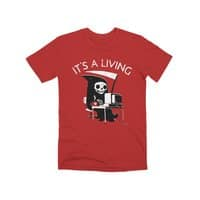 It's A Living - mens-premium-tee - small view