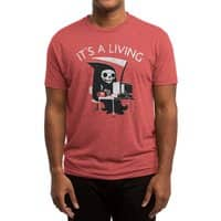 It's A Living - mens-triblend-tee - small view
