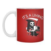 It's A Living - white-mug - small view