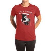It's A Living - womens-extra-soft-tee - small view
