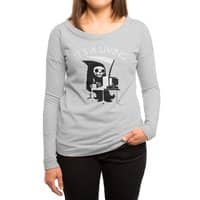 It's A Living - womens-long-sleeve-terry-scoop - small view