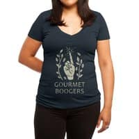 Gourmet Boogers - womens-deep-v-neck - small view