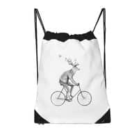 Even a Gentleman rides - drawstring-bag - small view