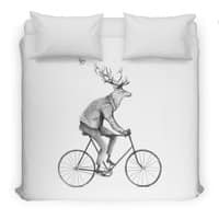 Even a Gentleman rides - duvet-cover - small view