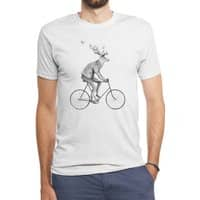 Even a Gentleman rides - mens-triblend-tee - small view