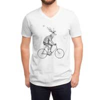Even a Gentleman rides - vneck - small view