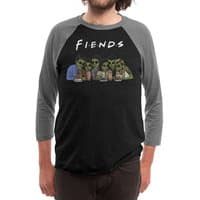 Fiends - triblend-34-sleeve-raglan-tee - small view