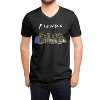 Fiends - vneck - small view