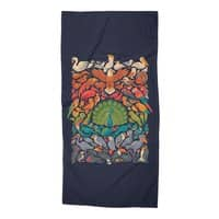 Aerial Spectrum - beach-towel - small view