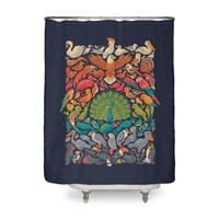 Aerial Spectrum - shower-curtain - small view
