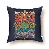 Aerial Spectrum - throw-pillow - small view
