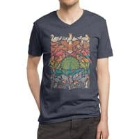 Aerial Spectrum - vneck - small view