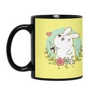 Badass Rabbit - black-mug - small view