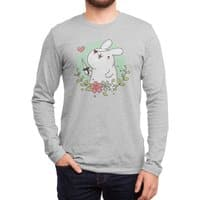 Badass Rabbit - mens-long-sleeve-tee - small view