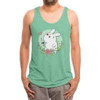 Badass Rabbit - mens-triblend-tank - small view