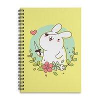 Badass Rabbit - spiral-notebook - small view