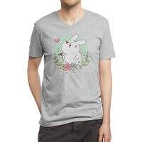 Badass Rabbit - vneck - small view