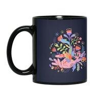 Palm-plants - black-mug - small view