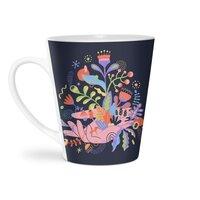 Palm-plants - latte-mug - small view