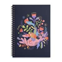 Palm-plants - spiral-notebook - small view