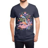 Palm-plants - vneck - small view