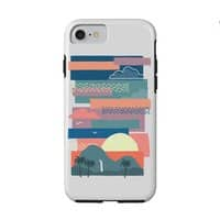 Tropical Skies - double-duty-phone-case - small view