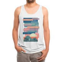 Tropical Skies - mens-triblend-tank - small view