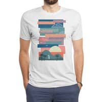 Tropical Skies - mens-triblend-tee - small view