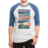Tropical Skies - triblend-34-sleeve-raglan-tee - small view