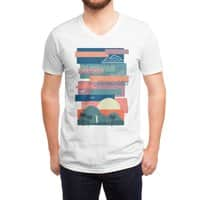 Tropical Skies - vneck - small view
