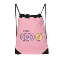 Pink Wednesday! - drawstring-bag - small view