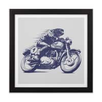 Built for Speed - black-square-framed-print - small view