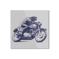 Built for Speed - square-mounted-aluminum-print - small view