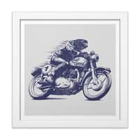 Built for Speed - white-square-framed-print - small view