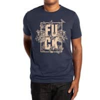 F is for FLOWERS  - mens-extra-soft-tee - small view