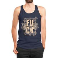 F is for FLOWERS  - mens-jersey-tank - small view