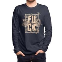 F is for FLOWERS  - mens-long-sleeve-tee - small view