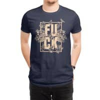 F is for FLOWERS  - mens-regular-tee - small view