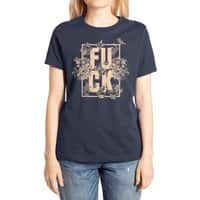 F is for FLOWERS  - womens-extra-soft-tee - small view