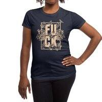 F is for FLOWERS  - womens-regular-tee - small view