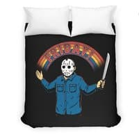 As long as we have Fridays! - duvet-cover - small view