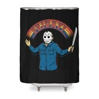 As long as we have Fridays! - shower-curtain - small view