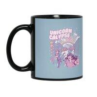 Unicorn Calypse - black-mug - small view