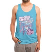 Unicorn Calypse - mens-triblend-tank - small view