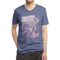 Unicorn Calypse - vneck - small view